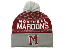 Mitchell And Ness - Montreal Maroons Nujacq Knit Beanie Sent Sameday*