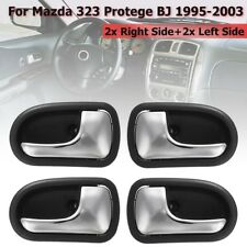 Inner Door Handle 4Pcs Front Rear Left Right For Mazda 323 Protege BJ 1995-2003