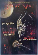Steve Vai Concert Poster 2005 F-686 Filmore