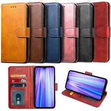 Para Xiaomi Redmi 9 7A 8A 8 Pro Mi 10 caso Note Cartera De Cuero Cubierta De Protección