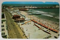 Atlantic City New Jersey Panoramic View Boardwalk, Beach Centennial Postcard A20