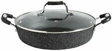 Scoville Non Stick Aluminium Shallow Casserole Dish 2.3L - Black