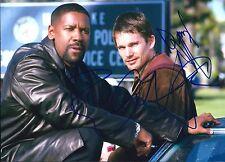 Denzel Washington & Ethan Hawke signed Training Day 8X10 photo @@ Photo Proof @