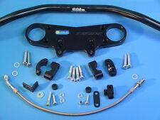 ABM Superbike Lenker Umbau-Kit für Kawasaki ZZ-R ZZR 1400 Bj. '06 - '11 ABS