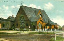 Lawton,OK. The 1st Presbyterian Church 1911