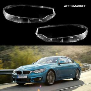BMW 4 F32 / F33 / F82 M3 M4 OEM Headlight Lens Plastic Cover (PAIR) aftermarket