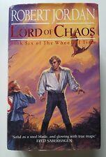 Robert Jordan Lord of Chaos Wheel of Time Book 6 First 1st Edition Hardback 1994
