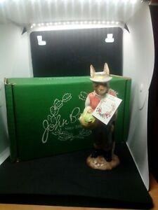 Beswick English Country Folk Gardener Rabbit Figure Boxed