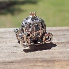 AUTHENTIC PANDORA 791573CZ  CHARM DISNEY CINDERELLA'S PUMPKIN COACH CHARM