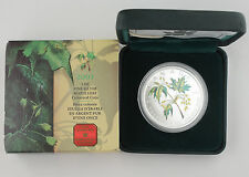 Canada 2003 Colored 1 Oz 9999 Silver Maple Leaf Coin +BOX & COA GEM