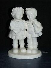 """+ww Goebel Hummel Figur, Hum 909, """"Behalt mich lieb!"""", Gifts of Love, weiß"""