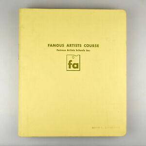 Vintage Famous Artists Schools Course Book Volume 2 (9-16) 1960 COMPLETE