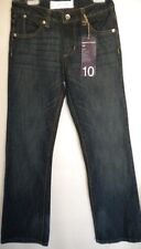 PAPERDENIM & CLOTH Blue Jeans Straight Leg 10 NWT Youth Girls (MSRP $68)