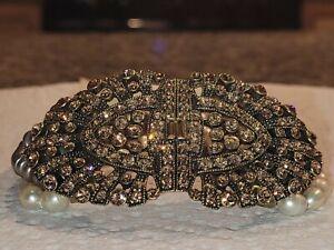 Heidi Daus choker necklace and rings