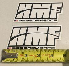Hmf Racing Mx Atv Gncc Motocross Enduro Dirtbike Decal Sticker Emblem Set Of 2