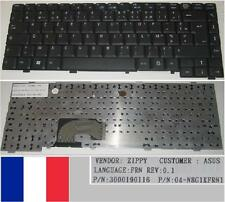 Clavier Azerty Français ASUS L4000 04-N8G1KFRN1 K991162B1 3000190116 Noir