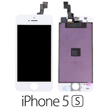 IPHONE 5S LCD SCHERMO DISPLAY RETINA TOUCH SCREEN VETRO FRAME BIANCO