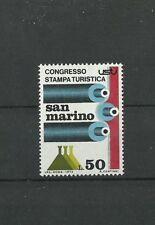 San Marino 1973 Congress tourism press MNH