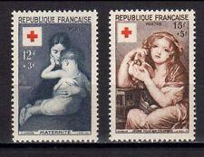 FRANCE FRANCIA 1954 Au Profit de la Croix-Rouge MNH**
