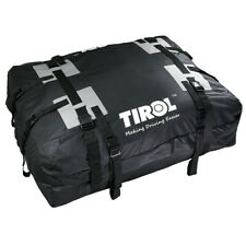 Car SUV Trunk Roof Top Cargo Luggage Pack Waterproof Travel Storage Bag Black