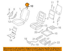 FORD OEM 08-09 Taurus X Rear Seat-Headrest Head Rest 8A4Z74501A02BC