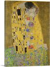ARTCANVAS The Kiss - Rectangle 1907 Canvas Art Print by Gustav Klimt