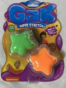 Nickelodeon Gak Super Stretch Goo SLIME * STOCKING STUFFERS?