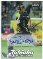 2017 Topps Stadium Club MLS Soccer Autograph AUTO #22 Fabinho