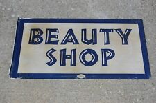 Antique Beauty Shop Flange Sign 1223 by William Marvy Company