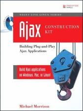 NEW Computer BOOK, CD NEGUS LINUX+AJAX CONSTRUCTION KIT Plug-and-Play Apps 2008