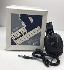 NEW Vintage Hal Leonard NH-113 Deluxe Stereo Headphone Over Ear Mono/Stereo