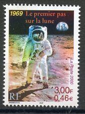 STAMP / TIMBRE FRANCE NEUFN° 3355 ** LE PREMIER PAS SUR LA LUNE 1969