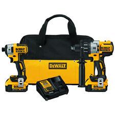 DEWALT 20V MAX XR 4.0 Ah Li-Ion BL Hammer Drill/Impact Driver Kit DCK299M2 New