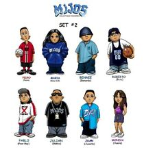 Homies **** Mijos Series 2 --- all 8 different figures - loose set
