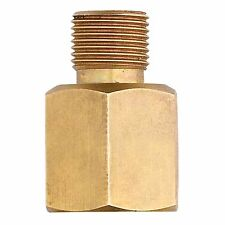 Gasmate BRASS GAS ADAPTOR Converts BBQ Inlet From 1/4 To 3/8 Inch *Aust Brand