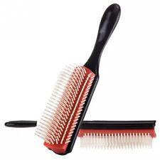 Cushion Brush Nylon Bristle 9-Row Detangle Distribute ِProduct Curly Hair