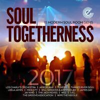 Various Artists : Soul Togetherness 2017: 15 Modern Soul Room Gems CD (2017)