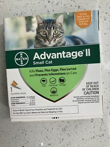 Advantage II Flea Treatment and Prevention for Small Cats, 5-9 Pounds 1-pack