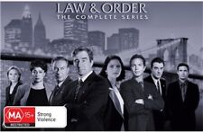 Law And Order the complete season Series 1 - 20 DVD Box Set R4 New