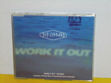 MAXI CD - DEF LEPPARD - WORK IT OUT
