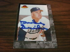 2001 Topps American Pie # 97 Duke Snider Autograph card Los Angels Dodgers