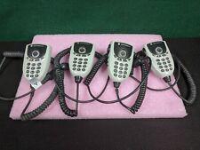 Lot of 4 Motorola Keypad Microphone Hmn4079C