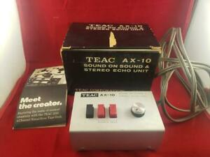 TEAC AX-10 Vintage Sound on Sound & Stereo Echo Effects Unit with Original Box