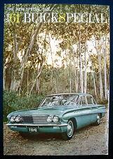Prospekt brochure 1961 Buick Special (USA)