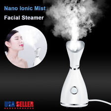 Professional Nano Ionic Facial Steamer Mist Salon Portable Beauty Face Skin Care
