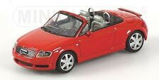 Audi Tt Roadster 1999 Red 1:43 Model MINICHAMPS