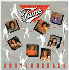 "THE KIDS FROM FAME - 7"" - Body Language.  UK Picture Sleeve.  RCA"