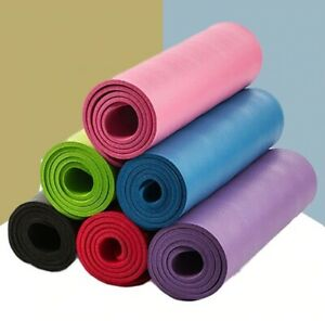 Quality 10mm  Yoga Mat with Free Carry Rope 183*61cm Non-slip Thick Pad Fitness