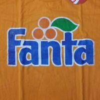Fanta Men's XL T-Shirt Orange Licensed Coca Cola Coke Soda Merch