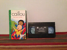 Caillou : Caillou jouons ensemble VHS tape & sleeve FRENCH